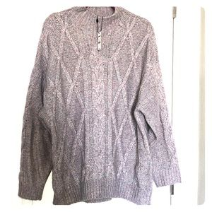 NWT Express soft cable knit sweater